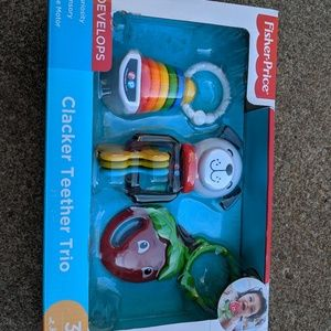 Fisher Price 3 Set Trio Teether Set Brand new